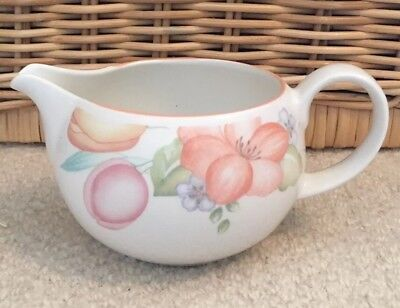 M&S Orange St Michael Blossom Milk Jug
