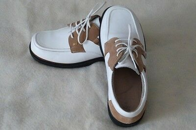 Classic Spikeless REEBOCK Ladies Golf Walking Lace-up Shoes Size 8 ½ W