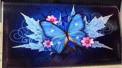 Floral Flowers Checkbook cover Great picture NEW! Great gift!     FREE SHIPPING!