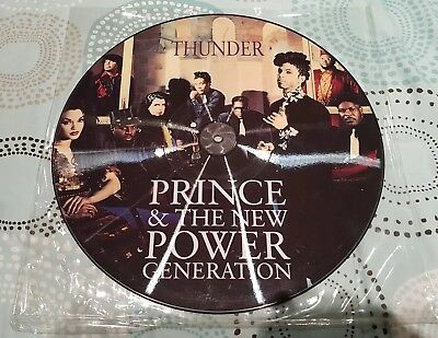Prince and the New power generation Thunder 12 inch picture disc