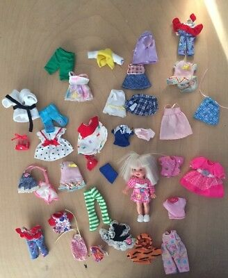 Barbie Doll Kelly Sister Clothes And Accessory Lot
