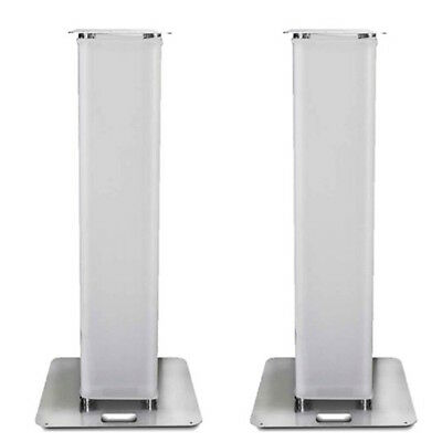 2 x 2m Moving Head Plinth Podium Tower DJ Disco Wedding Lycra Scrim Stand