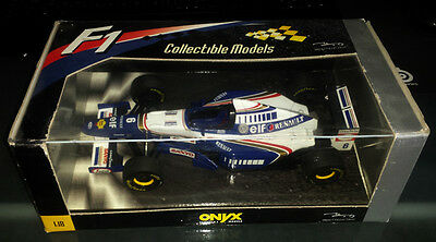 1/18 ONYX 6002 William Renault FW17 David Coulthard