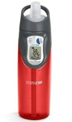 Hydra fit smart water bottle BPA free red Brand new sealed