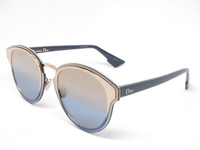 2d423567fc CHRISTIAN DIOR NIGHTFALL LKSX5 Gold Blue with Champagne Photo Sunglasses -   330.28