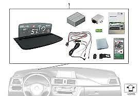 Genuine BMW Head Up Display Retrofit kit.