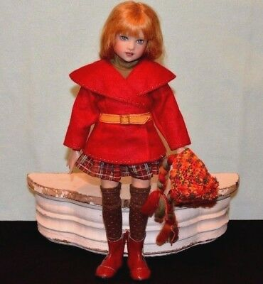 "Helen Kish Doll 14"" Piper Prep School Limited to 300"