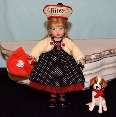 Riley Kish Doll Riley's Perfect Puppy Limited Number 119 of 450