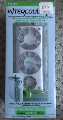 NEW/SEALED Nyko Intercool Temperature Sensing Cooling Device For Xbox 360