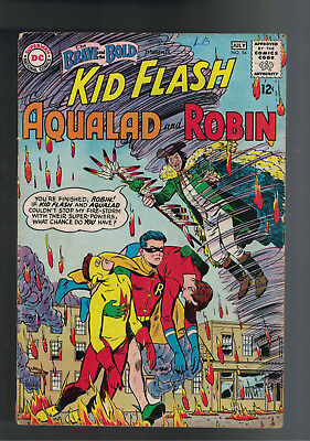 THE BRAVE AND THE BOLD #54 KEY 1st APPEARANCE/ORIGIN of the TEEN TITANS.TV SHOW!