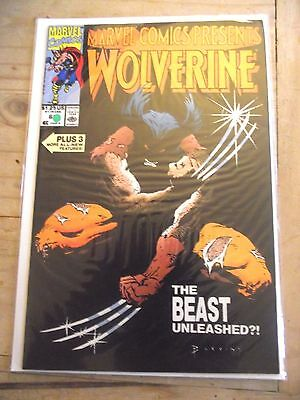 Marvel Comics Presents Wolverine #63 The Beast Unleashed?! FN