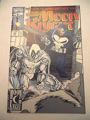 Marc Spector Moon Knight #38 Blood Brothers Final Punisher FN/VF