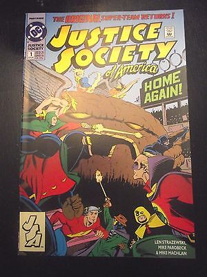 Justice Society of America #1 (1992) Key 1st Jessie Quick Flash TV show FN