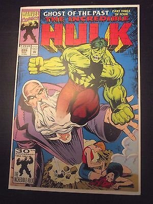 Incredible Hulk #399 Ghost of the Past Part 3 (of 4) FNVF