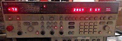 HP / Agilent 8673H OPT 212 Synthesized Signal Sweep Generator 2 to 12.4 GHz