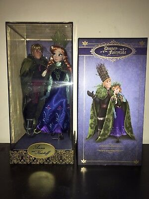 disney limited edition Anna And Kristoff Troll Wedding doll