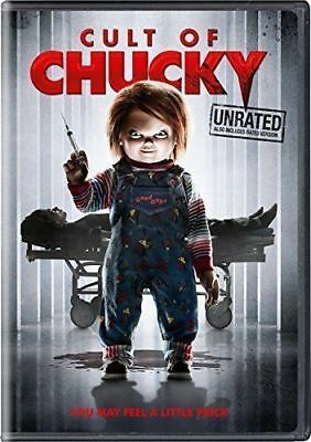 CULT OF CHUCKY (DVD 2017)NEW* Horror, Thriller* NOW SHIPPING !