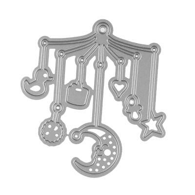 Embossing Stencil Metal Cutting Dies Scrapbook Christmas Decor Bed Bell