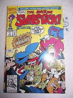 The Awesome Slapstick #1 1st appearance Slapstick (key Mercs for Money) FN
