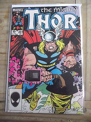The Mighty Thor #351 1985 VG