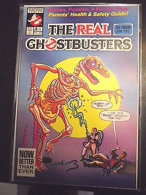 The Real Ghostbusters #4 (1991) Now comics based on cartoon FN