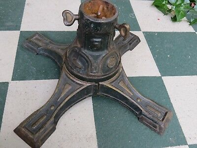 Vintage Cast Iron Large Christmas Tree Stand Germany