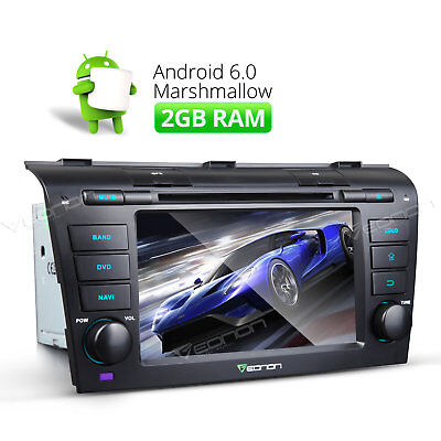 """7""""Android 6.0 Car DVD GPS for Mazda 3 Head Unit Touch Screen 2GB RAM DAB+WIFI B"""