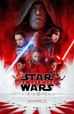 "Star Wars-The Last Jedi (11"" x 17"") Movie Collector's Poster Print ( T8) - B2G1F"