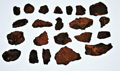 Nantan Iron Meteorite Genuine Pieces Dealer Lot 520 grams (1# 2.4 oz)  13378 25o