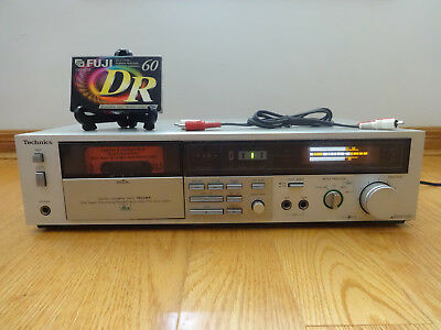 Technics RS-M228 Stereo Cassette Tape Deck dbx 1982 Japan TESTED 100% Works NICE