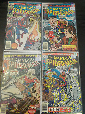 Amazing Spider-Man #163,165, 167,169 Lot Of 4. Bronze Age.