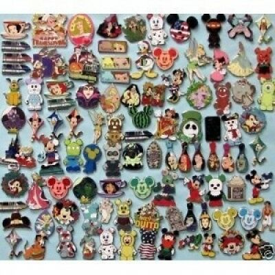 Disney Official Trading Pin Lot of 25 Lapel Collector Pins. Huge Saving