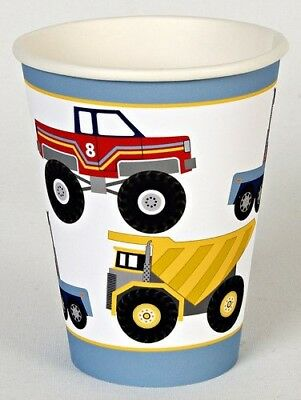 Meri Meri Big Rig Party Cups, 12-Pack. Shipping is Free