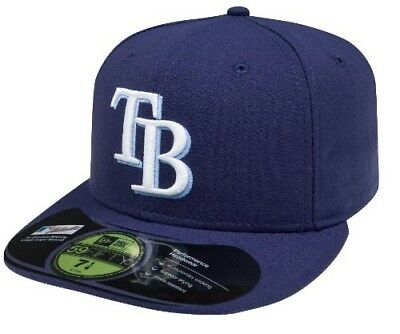 MLB Tampa Bay Rays Game AC On Field 59Fifty Fitted Cap-800. New Era. Best Price