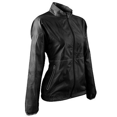 (Large, Black) - Sun Mountain 2017 Women's Cirrus Jacket. Delivery is Free
