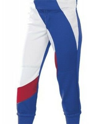 (Medium, Royal Blue/Scarlet/White) - Women's Cyclone Pant. Teamwork