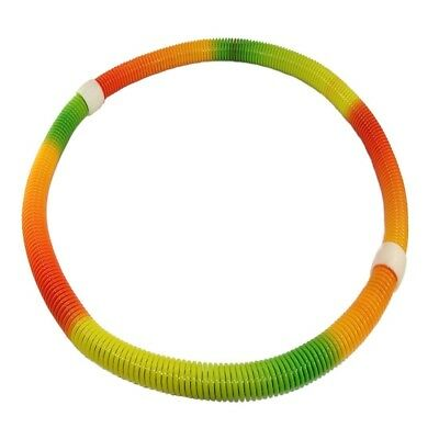 (Orange) - ESport Original Fitness Soft Spring Hula Hoops, Colourful Pilates