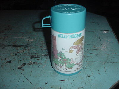 Vintage Plastic Lunchbox Thermos 1981 Holly Hobbie