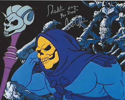 Alan Oppenheimer Signed He-Man Skeletor 8X10 Photo B Coa Masters Of The Universe