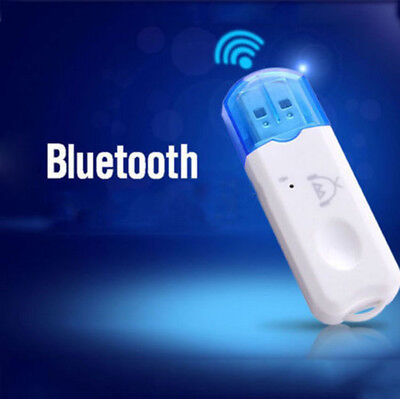 USB Wireless Bluetooth Stereo Audio Music Receiver Adapter Fo Car Home Speaker o