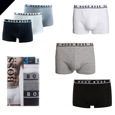 Hugo Boss GIFT PACK For men Underwear Boxer Trunk/Classic collection- Pack of 3