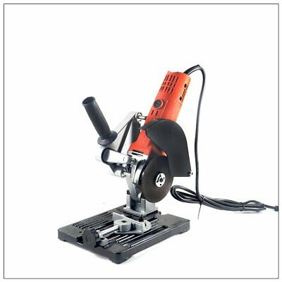 Angle Grinder Holder Stand Wood Stone Metal Cutting Machine Tools Accessories