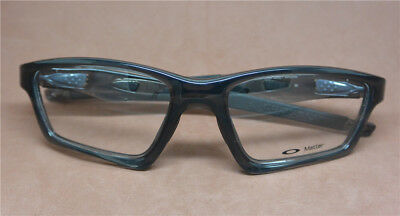 Replacement Frame 4 Oakley Crosslink OX8031 Pewter Eye Glass w Temples Arms 55mm