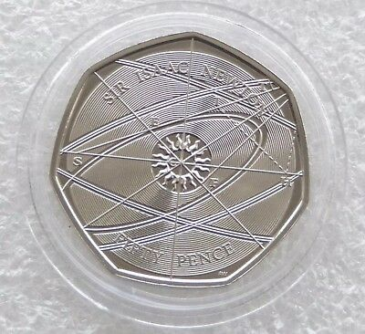 2017 Sir Isaac Newton 50p Fifty Pence Coin from bag