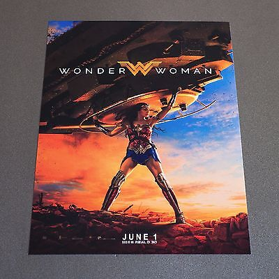 Wonder Woman Movie Poster DC - EXCLUSIVE - ODEON - 2017