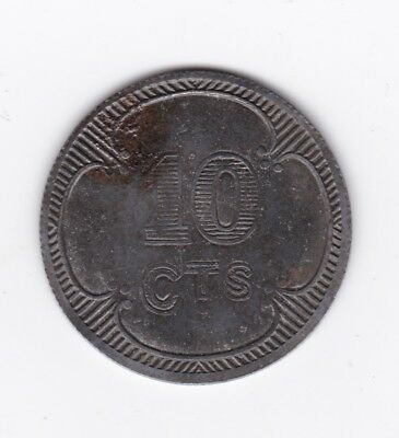Prisoner of War token WWI - British Expeditionary Forces POW - 10 Cents/Centimes