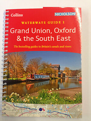 Nicholson guide Grand Union, Oxford and the South East narrowboat,barge,cruiser.