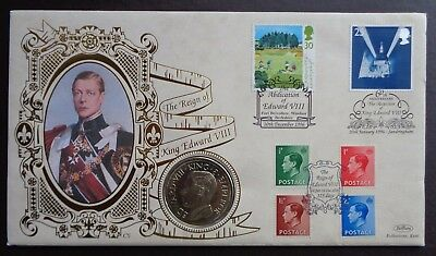 1996 The Reign of King Edward VIII Coin Cover