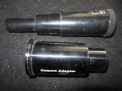 Telescope Camera Adaptor and 2x Barlow Lens - Science, Astronomy, Stargazing