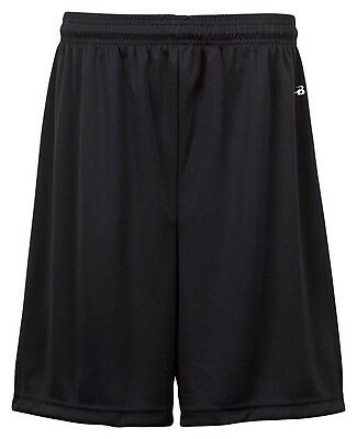 (Small, Black) - Badger Big Boys' Athletic Performance Superior-Fit Pocketed